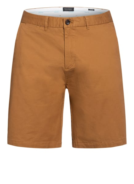 SCOTCH & SODA Chino-Shorts STUART Regular Slim Fit, Farbe: COGNAC (Bild 1)