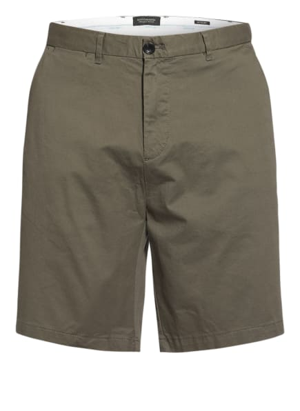 SCOTCH & SODA Chino-Shorts STUART Regular Slim Fit, Farbe: OLIV (Bild 1)