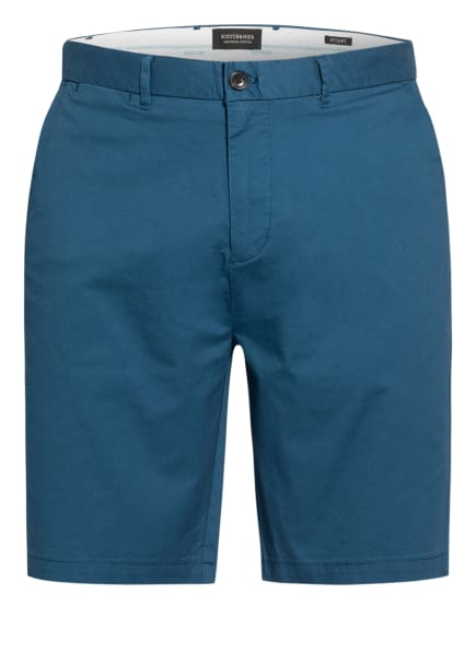 SCOTCH & SODA Chino-Shorts STUART Regular Slim Fit, Farbe: PETROL (Bild 1)