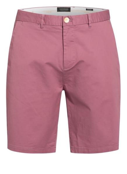 SCOTCH & SODA Chino-Shorts STUART Regular Slim Fit, Farbe: HELLROT (Bild 1)