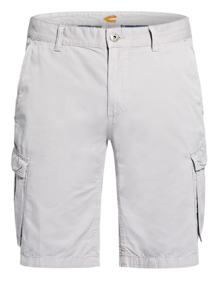 camel active Cargo-Shorts HOUSTON Regular Fit, Farbe: HELLGRAU (Bild 1)