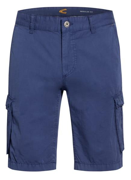 camel active Cargo-Shorts HOUSTON Regular Fit, Farbe: BLAU (Bild 1)