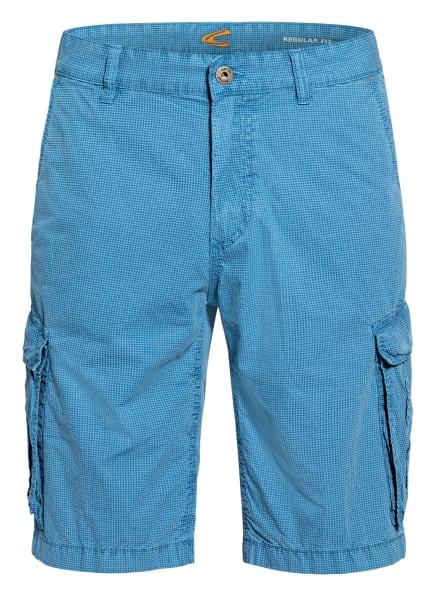 camel active Cargo-Shorts HOUSTON Regular Fit, Farbe: HELLBLAU/ BLAU (Bild 1)