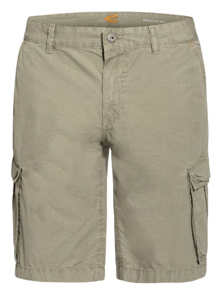 camel active Cargo-Shorts HOUSTON Regular Fit, Farbe: HELLGRÜN/ SCHWARZ (Bild 1)