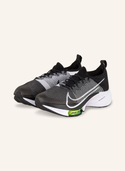 Nike Laufschuhe AIR ZOOM TEMPO NEXT%, Farbe: SCHWARZ/ WEISS (Bild 1)