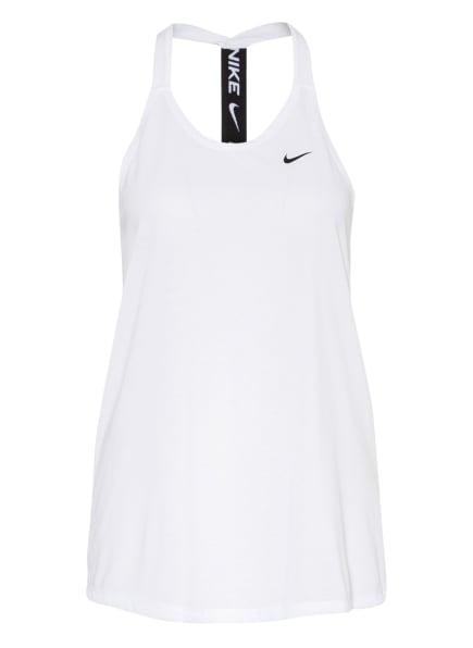 Nike Tanktop DRI-FIT, Farbe: WEISS (Bild 1)