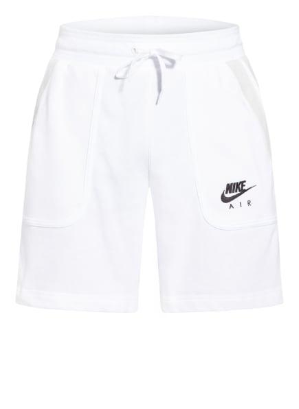 Nike Sweatshorts AIR, Farbe: WEISS/ SCHWARZ/ HELLGRAU (Bild 1)