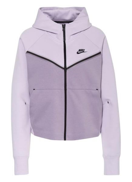 Nike Sweatjacke SPORTSWEAR TECH FLEECE, Farbe: LILA/ HELLLILA (Bild 1)