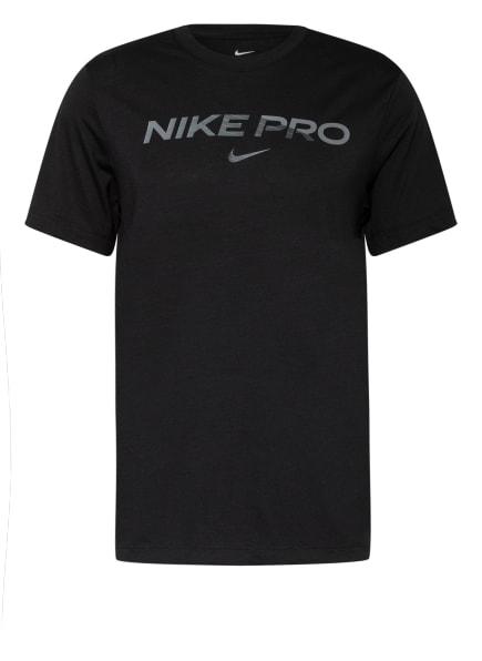 Nike T-Shirt PRO, Farbe: SCHWARZ (Bild 1)