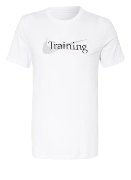 Nike T-Shirt DRI-FIT , Farbe: WEISS (Bild 1)