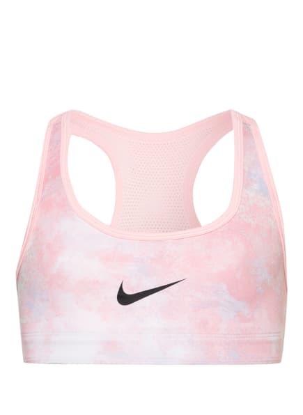 Nike Sport-BH SWOOSH zum Wenden, Farbe: WEISS/ ROSA (Bild 1)