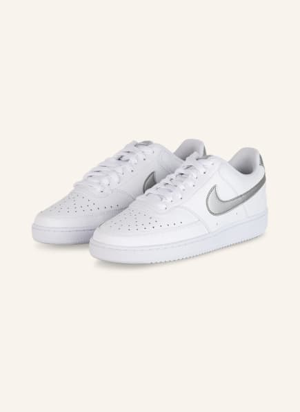 Nike Sneaker COURT VISION LOW, Farbe: WEISS (Bild 1)