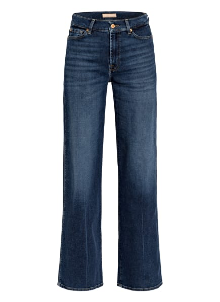 7 for all mankind Flared Jeans LOTTA , Farbe: Luxe Vintage Powertrip DARK BLUE (Bild 1)