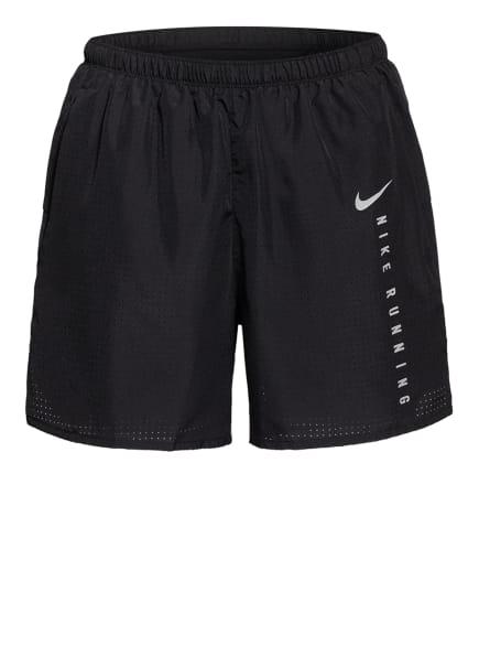 Nike Laufshorts CHALLENGER RUN DIVISION, Farbe: SCHWARZ/ SILBER (Bild 1)