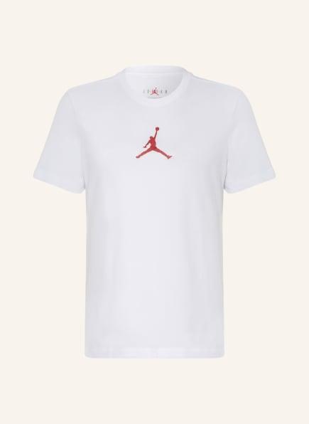 JORDAN T-Shirt JORDAN JUMPMAN, Farbe: WEISS/ ROT (Bild 1)