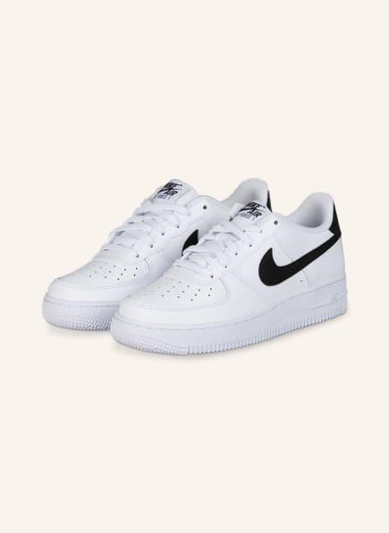 Nike Sneaker AIR FORCE 1, Farbe: 100 WHITE/BLACK (Bild 1)