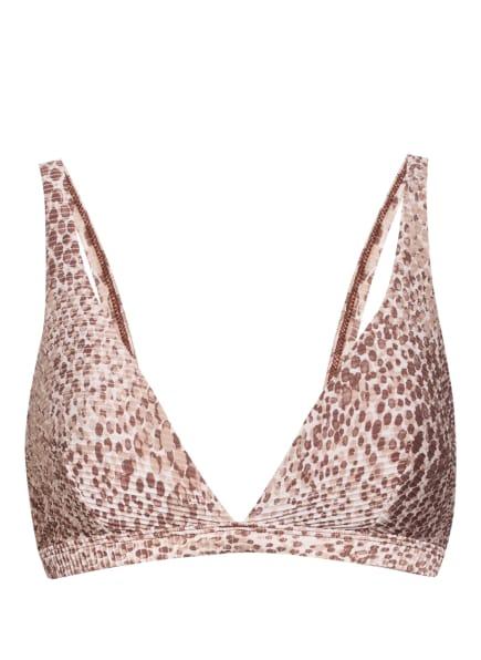 SEAFOLLY Bralette-Bikini-Top SERPENTINE , Farbe: ECRU/ BEIGE/ BRAUN (Bild 1)