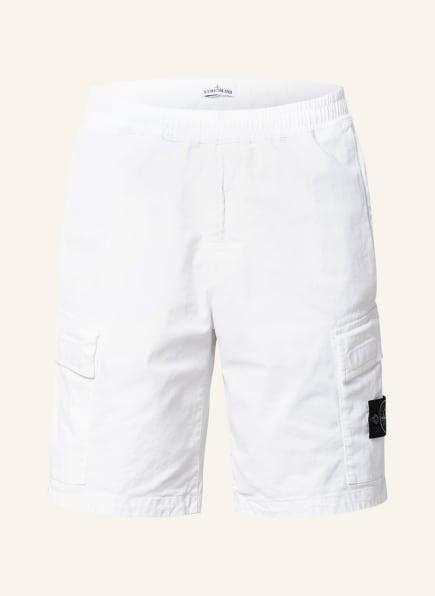 STONE ISLAND Cargo-Shorts, Farbe: WEISS (Bild 1)