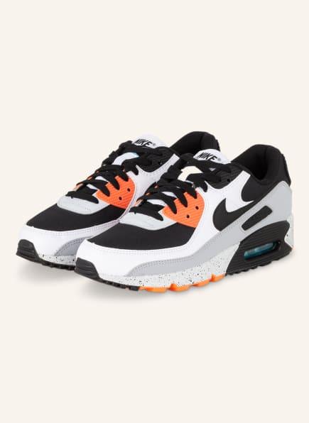 Nike Sneaker AIR MAX 90, Farbe: SCHWARZ/ GRAU/ ROT (Bild 1)