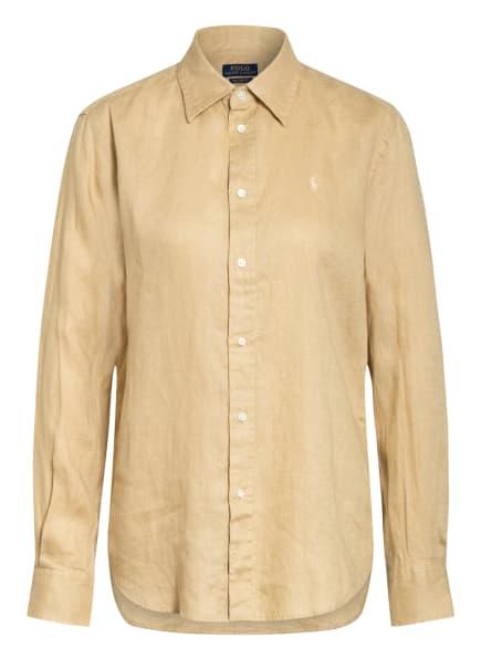 POLO RALPH LAUREN Hemdbluse aus Leinen, Farbe: BEIGE (Bild 1)