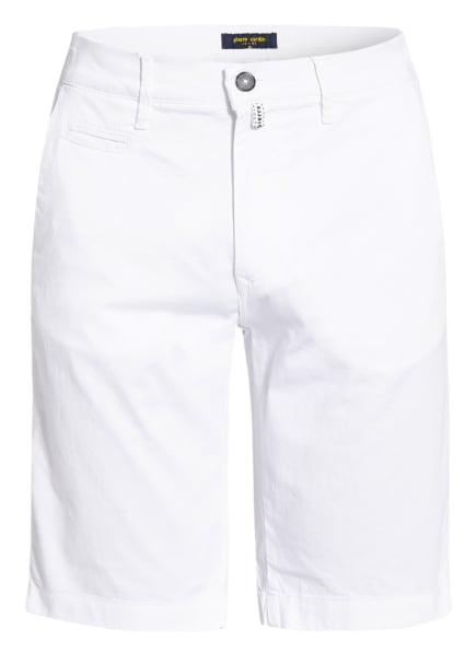 pierre cardin Chino-Shorts LYON , Farbe: WEISS (Bild 1)