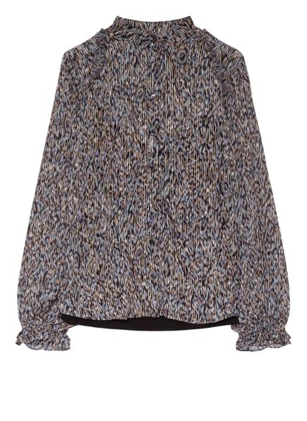 BRUUNS BAZAAR Bluse VERVAIN SABELL, Farbe: SCHWARZ/ BEIGE/ BLAUGRAU (Bild 1)