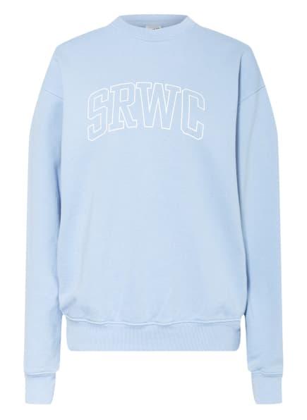 SPORTY & RICH Sweatshirt, Farbe: HELLBLAU (Bild 1)