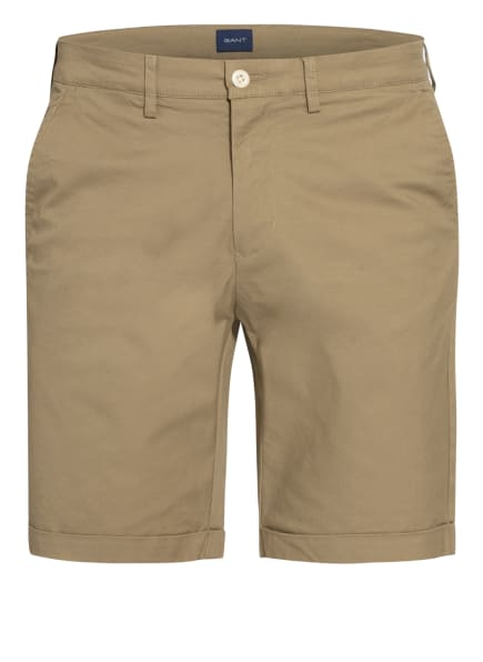 GANT Chino-Shorts, Farbe: OLIV (Bild 1)
