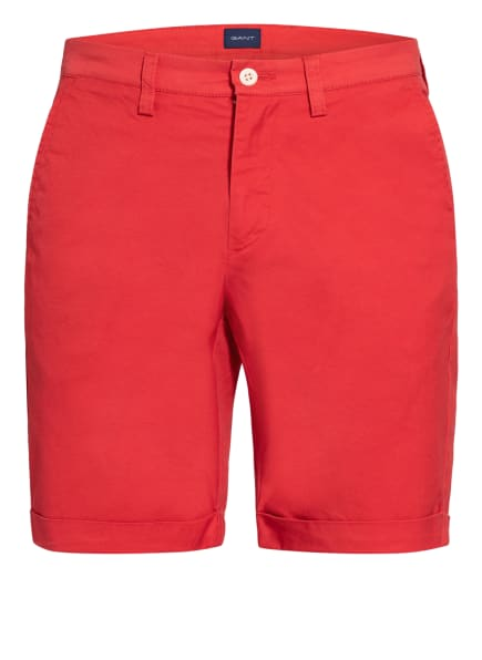 GANT Chino-Shorts, Farbe: ROT (Bild 1)
