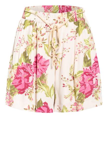 MOS MOSH Shorts AUDE, Farbe: CREME/ ROSA/ GRÜN (Bild 1)