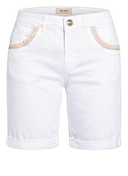 MOS MOSH Jeans-Shorts BRADFORD, Farbe: 101 WHITE (Bild 1)