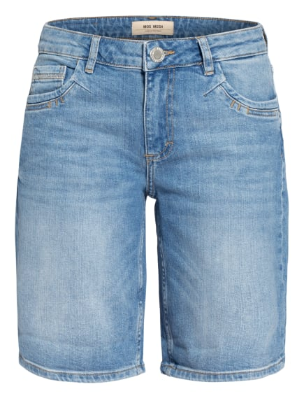 MOS MOSH Jeans-Shorts AVA, Farbe: 406 LIGHT BLUE (Bild 1)
