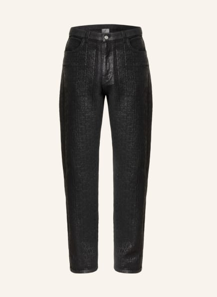 GIVENCHY Jacquard-Jeans Relax Fit , Farbe: 001 BLACK (Bild 1)
