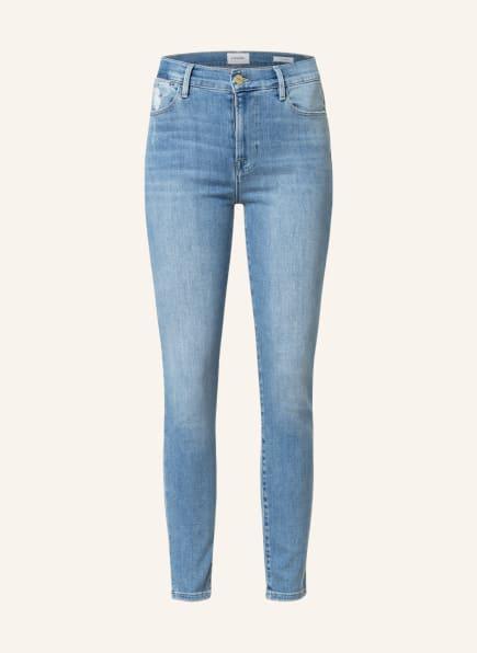 FRAME DENIM Skinny Jeans LE HIGH SKINNY, Farbe: OVTN OVERTURN (Bild 1)