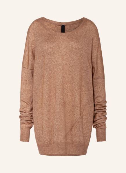 PETAR PETROV Pullover EDEN mit Seide, Farbe: CAMEL (Bild 1)