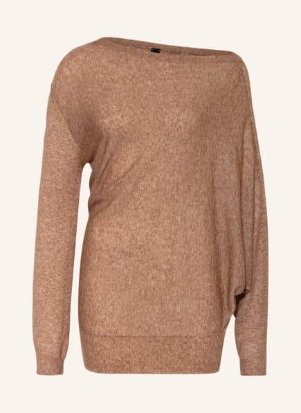 PETAR PETROV Pullover ENYA mit Cashmere und Seide, Farbe: CAMEL (Bild 1)