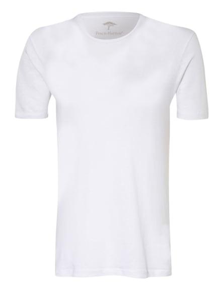 FYNCH-HATTON T-Shirt aus Leinen, Farbe: WEISS (Bild 1)