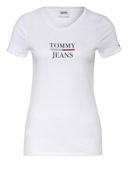 TOMMY JEANS T-Shirt, Farbe: WEISS/ SCHWARZ (Bild 1)