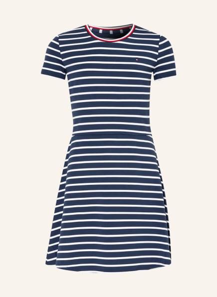 TOMMY HILFIGER Kleid , Farbe: DUNKELBLAU/ WEISS (Bild 1)