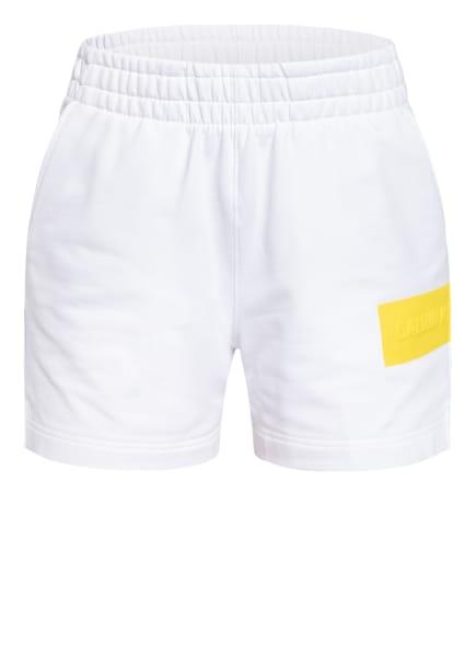 Calvin Klein Jeans Sweatshorts, Farbe: WEISS (Bild 1)