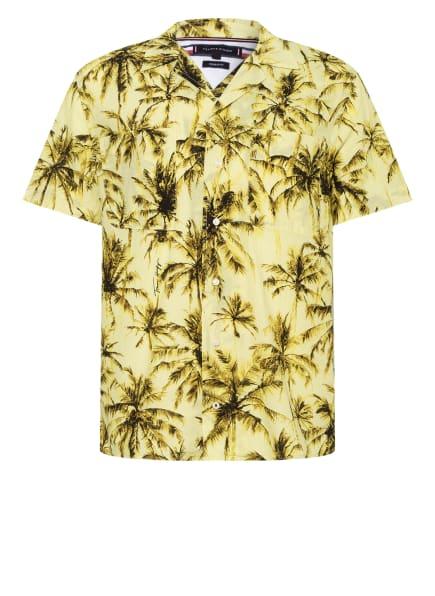TOMMY HILFIGER Resorthemd Regular Fit, Farbe: GELB/ OLIV/ SCHWARZ (Bild 1)