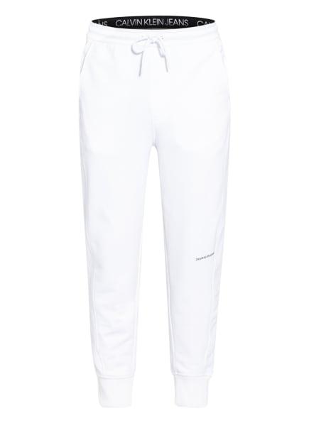 Calvin Klein Jeans Sweatpants, Farbe: WEISS (Bild 1)