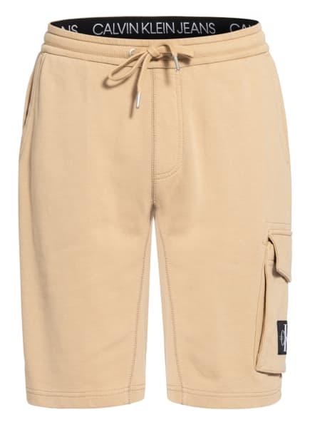 Calvin Klein Jeans Sweatshorts, Farbe: CAMEL (Bild 1)