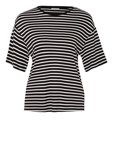 Marc O'Polo DENIM T-Shirt, Farbe: SCHWARZ/ WEISS (Bild 1)