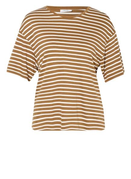Marc O'Polo DENIM T-Shirt, Farbe: WEISS/ BRAUN (Bild 1)