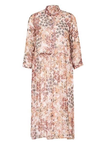 CINQUE Kleid CIDAVIS, Farbe: ECRU/ COGNAC/ ALTROSA (Bild 1)