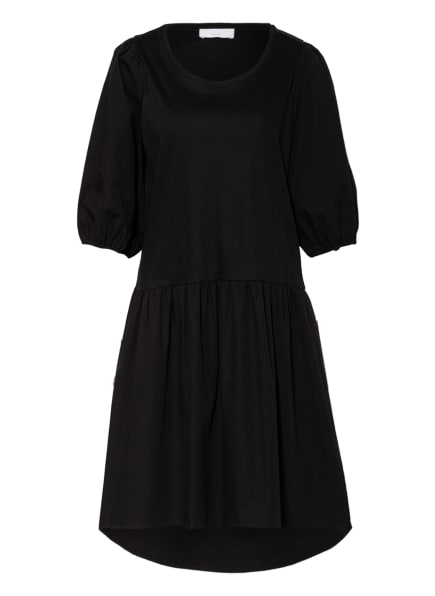 CINQUE Kleid CITAMARA im Materialmix, Farbe: SCHWARZ (Bild 1)