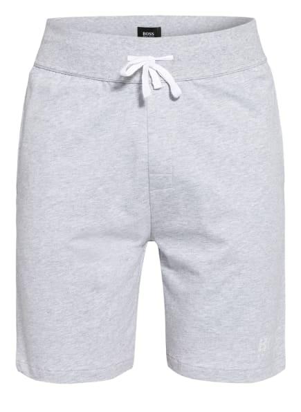 BOSS Longe-Shorts AUTHENTIC mit Galonstreifen, Farbe: GRAU (Bild 1)