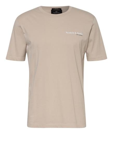 SCOTCH & SODA T-Shirt, Farbe: CREME (Bild 1)