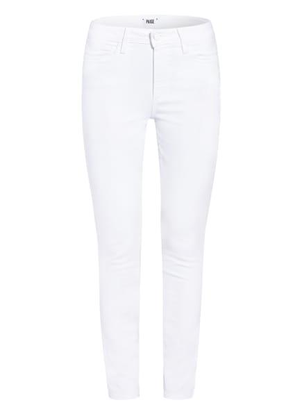 PAIGE Skinny Jeans HOXTON ANKLE, Farbe: 4520 CRISP WHITE (Bild 1)